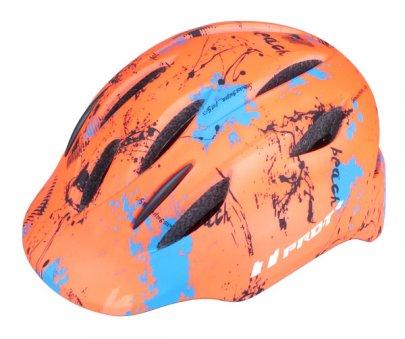 Přilba PRO-T Plus Avila In mold dětská oranžová neon-matná