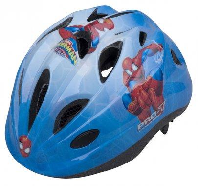Přilba PRO-T Plus Toledo In mold dětská modrá-spider man