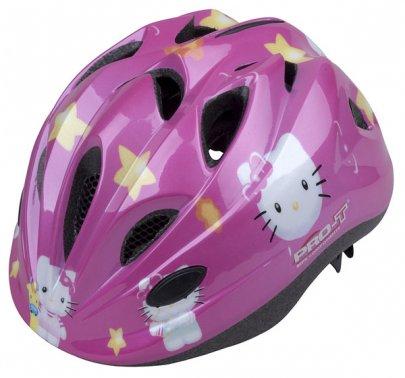 Přilba PRO-T Plus Toledo In mold dětská růžová-Kitty