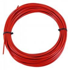 Bowden řadící SACCON 4mm červený, teflonový /za 1m