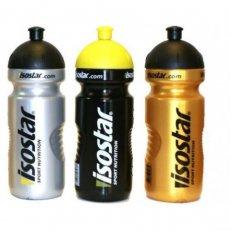 láhev ISOSTAR 0,65 l, výsuvný vršek, černá