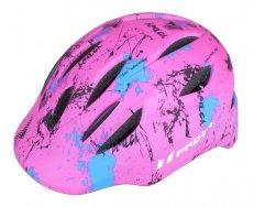 Přilba PRO-T Plus Avila In mold dětská růžová-neon matná