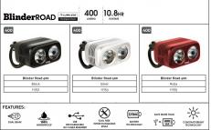 Světlo Blinder Road 400 - přední 2019