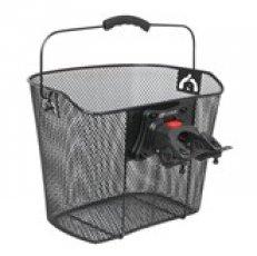 košík na řídítka KLICK 25,4mm drátěný, černý