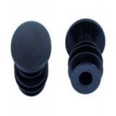koncovky řidítek VLP-35 černé /2ks/