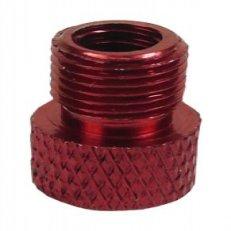 redukce ventilku COLOURY MT-307 z FV na AV červená