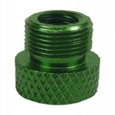 redukce ventilku COLOURY MT-307 z FV na AV zelená