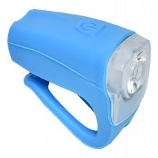 světlo přední PROFIL JY-378FU silicon 3WUSB modré