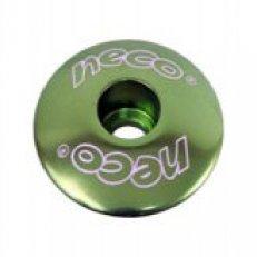 """horní krytka řízení NECO C2861 1-1/8"""" zelená"""