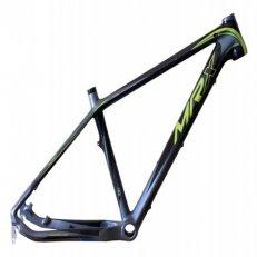 """rám 26"""" MRX carbon 19"""" černo-stříbrno-zelený"""