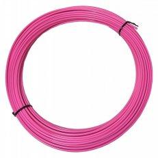 bowden brzdový ALHONGA 2P 5mm-50m růžový /cena za 1m/