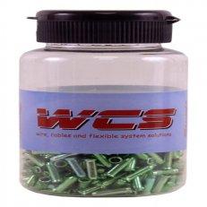 koncovka lanka SACCON-W110 zelené /500ks/