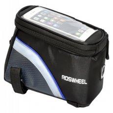 brašna na rám přední ROSWHEEL 12496L-B5 modrá