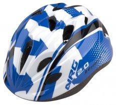 Přilba PRO-T Plus Toledo In mold dětská modro-bíla NGR
