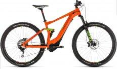 Horské kolo CUBE STEREO HYBRID 120 RACE 500 29 2019 orange n green