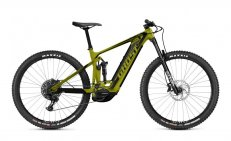 GHOST E-Riot Trail CF Advanced Kiwi Green/Midnight Black 27.5 - S 2021