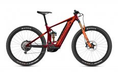 GHOST E-Riot Trail CF Pro Dark Red/Orange 27.5  2021
