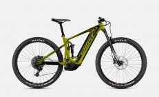 Ghost E-Riot Trail CF Advanced - Kiwi Green / Midnight Black 2021