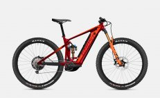 Ghost E-Riot Trail CF Pro - Dark Red / Orange 2021