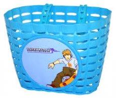 dětský koš na kolo plastový modrý SKATE