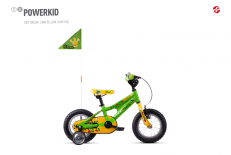 Powerkid 12 green / yellow 2018